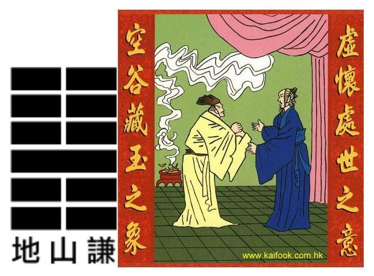 yi king hexagramme 15 K'ien en image H15%20Kien%20-%20L'humilit%C3%A9%2C%20la%20modestie